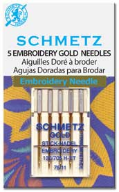SCHMETZ Embroidery Gold 75/11