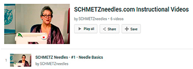 SCHMETZ YouTube Videos