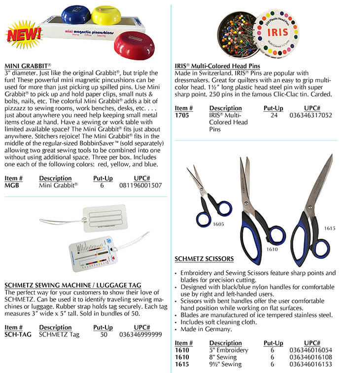 Euro-notions New Items Page 1