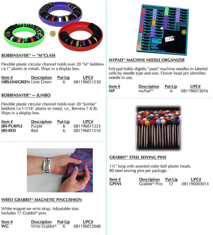 Euro-notions, Inc. Grabbit Catalog Page B
