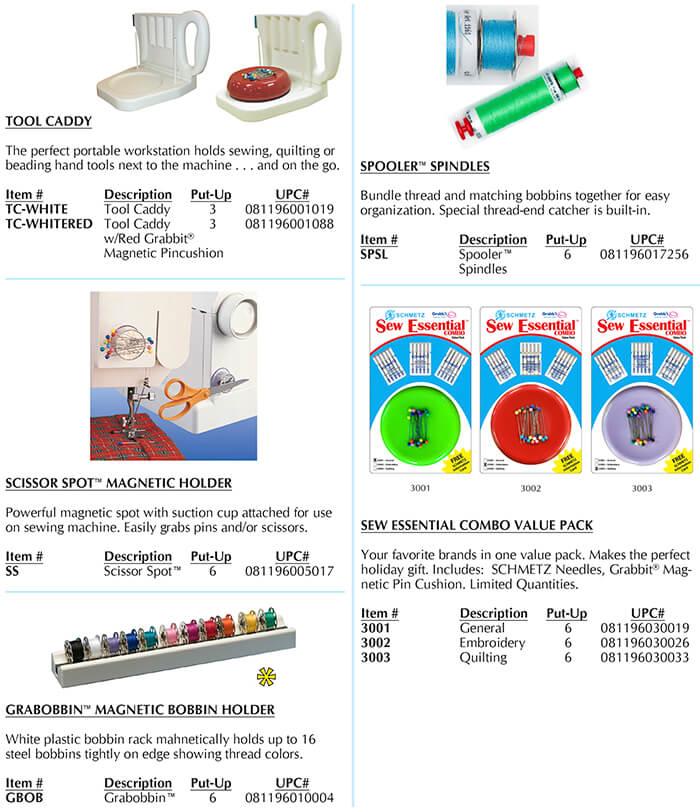 Euro-notions, Inc. Grabbit Catalog Page C